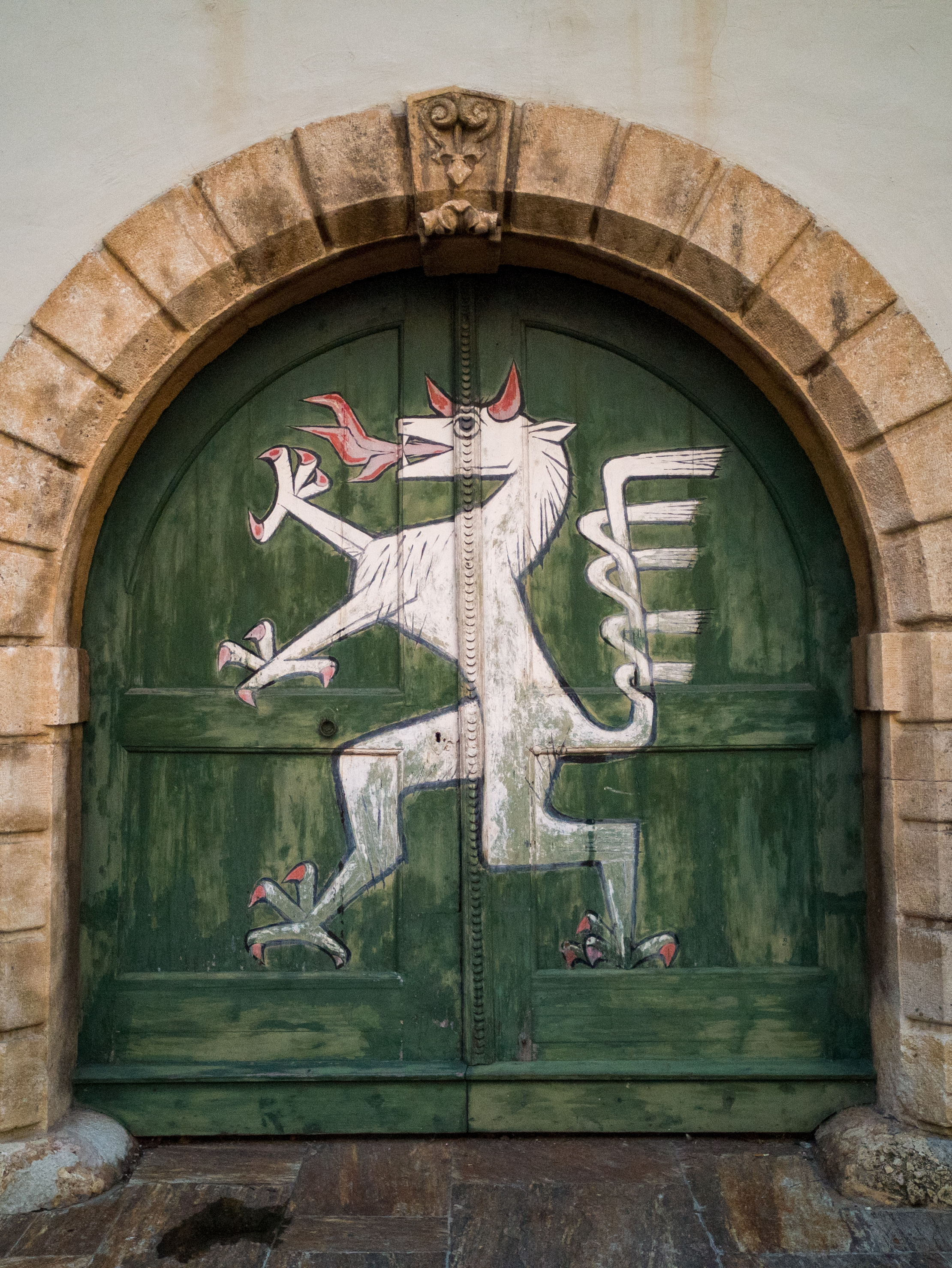 the panther door in Graz