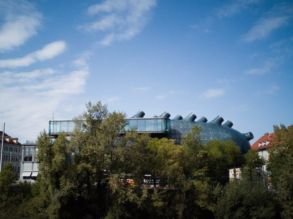 the Kunsthaus in Graz