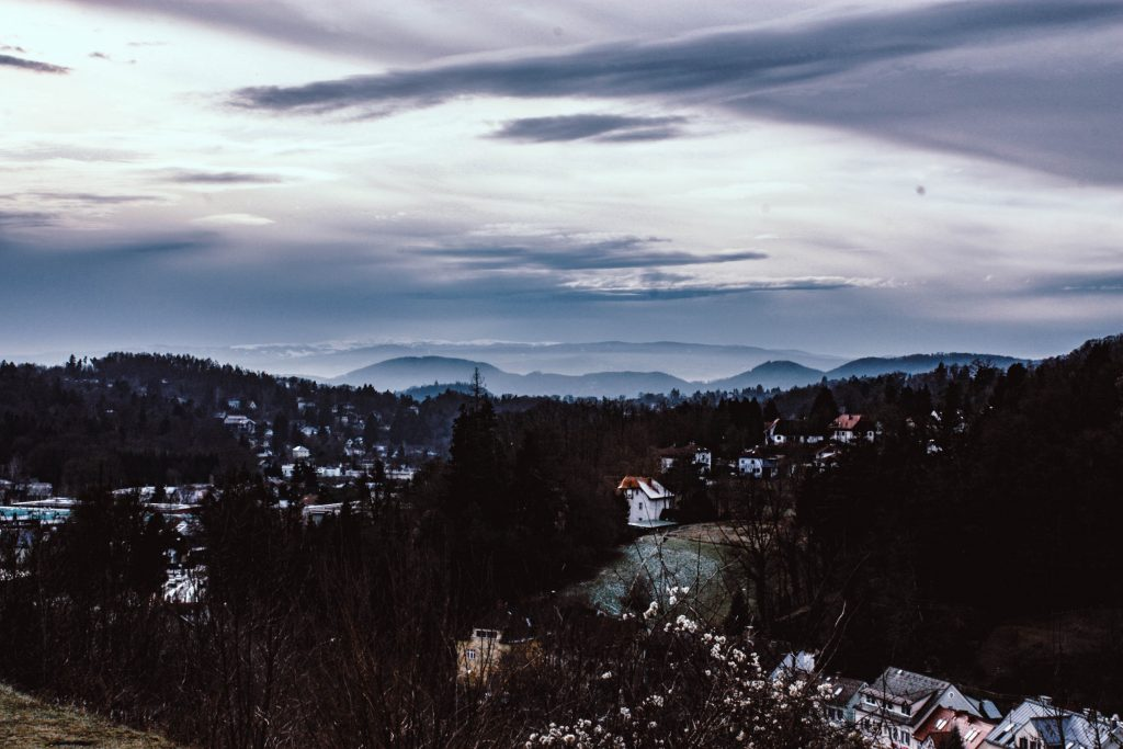 the best view in Graz from Mariatrost