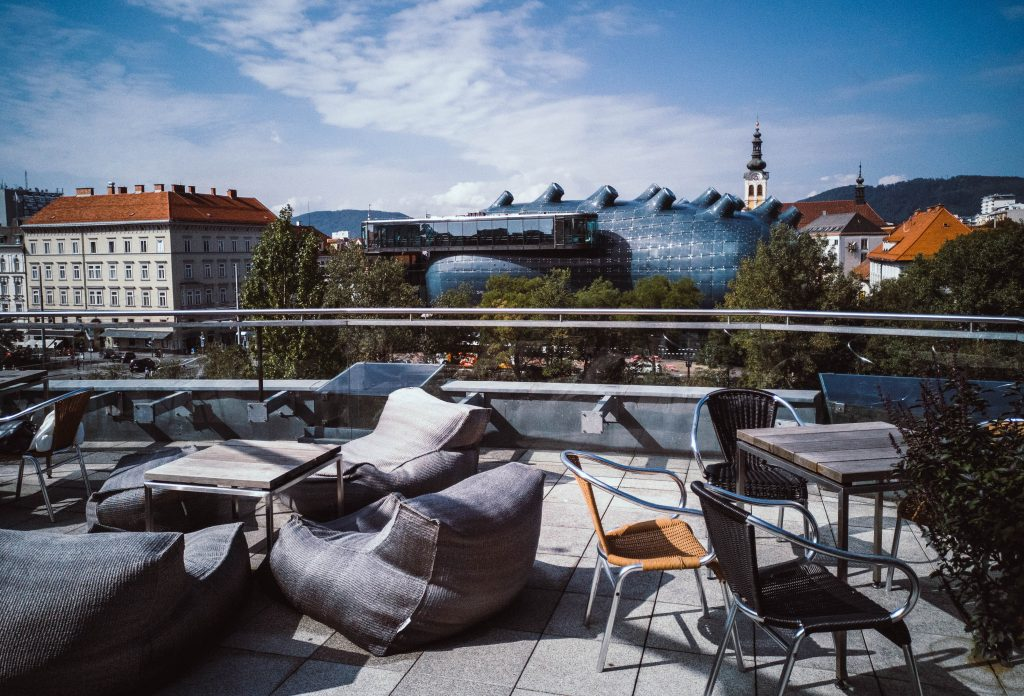 the best view in Graz from Gigasport