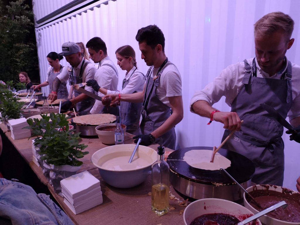 pancake makers from Martin Auer at fifteen seconds festival
