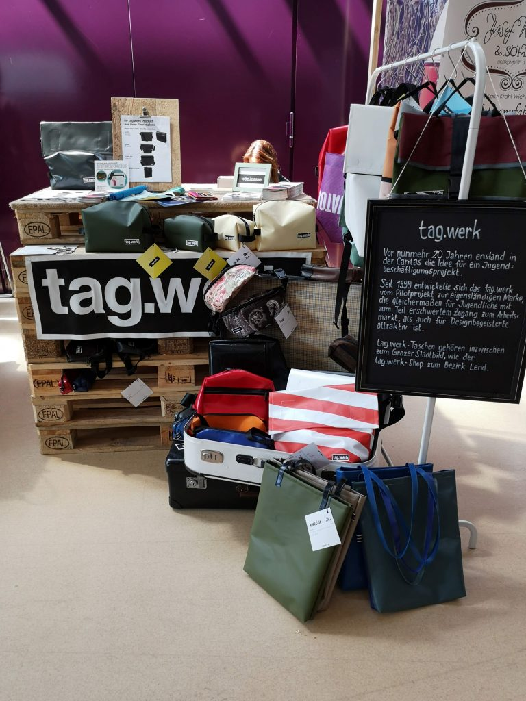 the tag werk stall at fifteen seconds festival