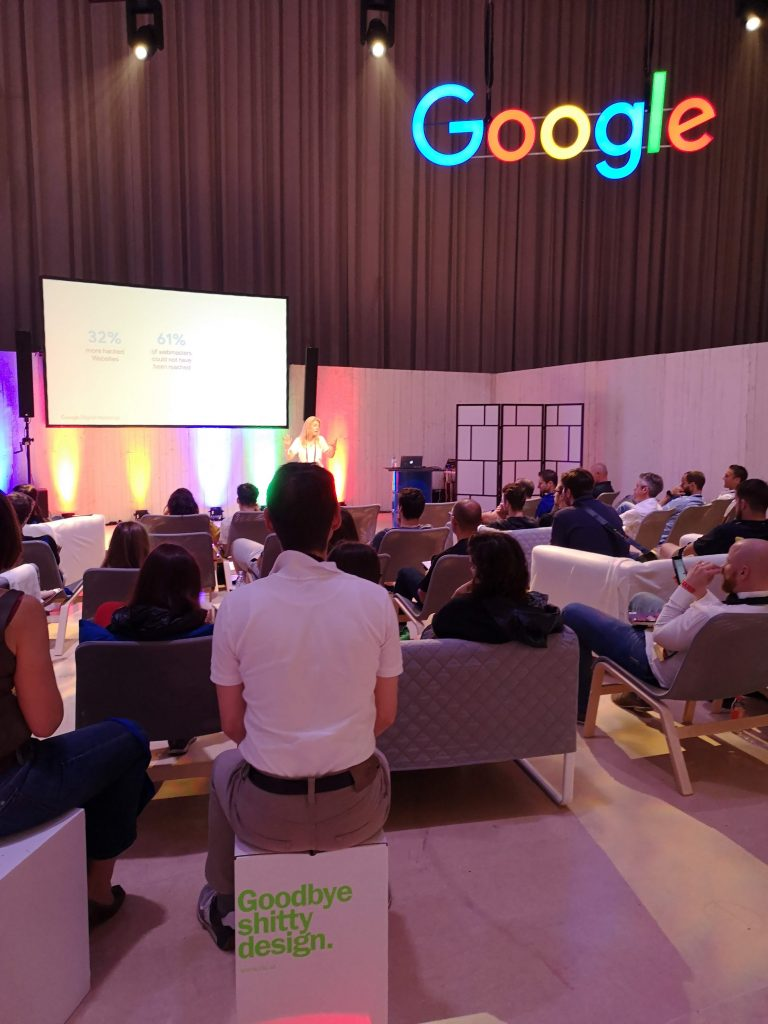 the google stage at fifteen seconds festival