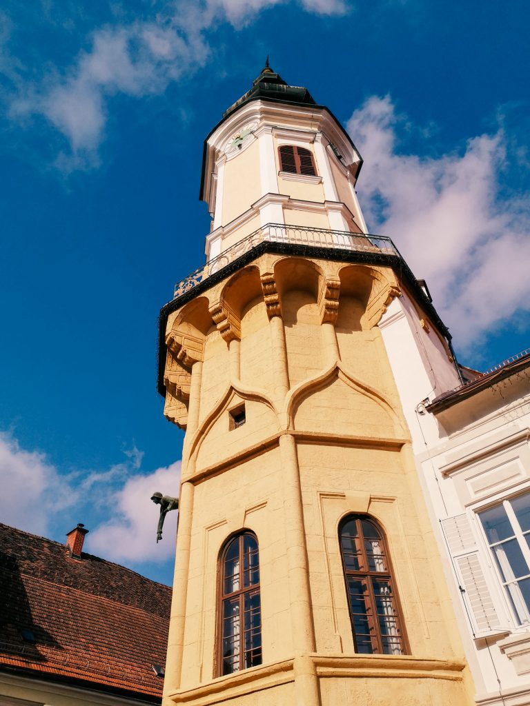 The tower in the main square of Bad Radkersburg