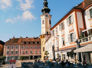 The main square of Bad Radkersburg